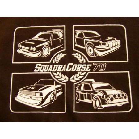 Camiseta Squadra Corse 70 – Grupo B negra