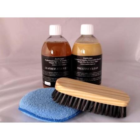 Kit Cuidado Interior: Revitalización y Limpieza de Cuero de alta calidad