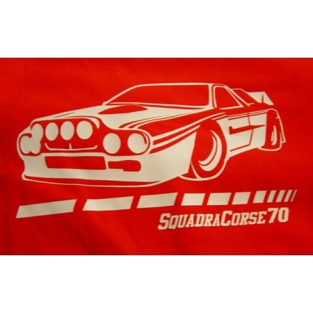 Camiseta Squadra Corse 70 – Lancia roja