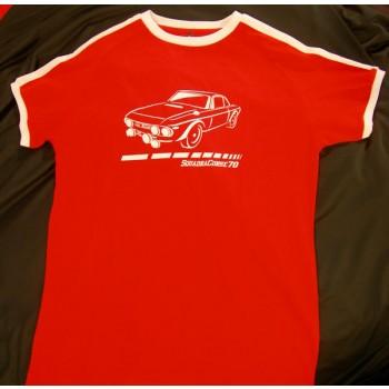 Camiseta Squadra Corse 70 – Lancia Fulvia Rojo