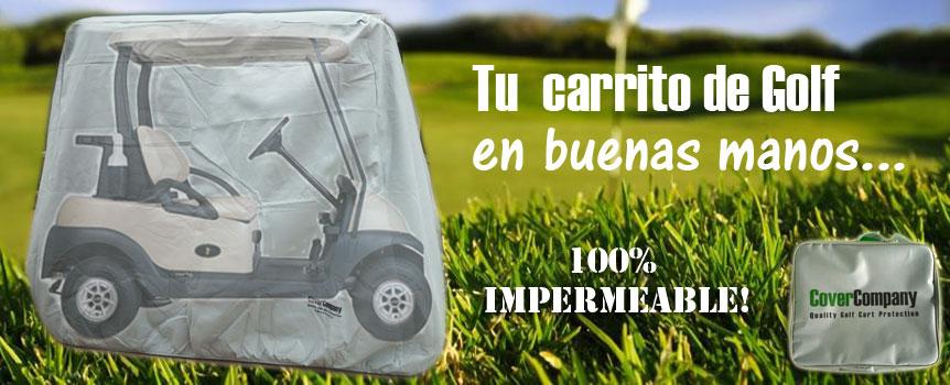 Funda carrito golf